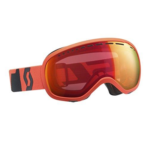 Scott Unisexe Off Grid Goggles uni Fluo Orange/Grey/Illuminator Red Chrome