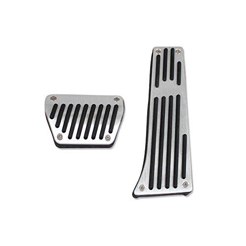 Generic Drill Free Aluminum Fuel Accelerate Brake AT Pedals For BMW 3 Series E30 E36 E87 E46 E90 E91 E92 E93 F30