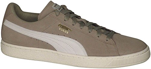 buy cheap good selling Puma Men's Suede Classic Fashion Sneakers Chinchilla/Whisper White 12 D(M) US manchester great sale cheap online shop cheap price outlet 2015 rRE64xP7YC