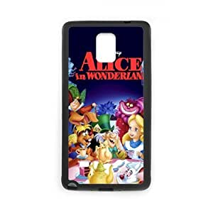 Alice in Wonderland Character Alice Samsung Galaxy Note 4 Cell Phone Case Black Phone Accessories SH_784075