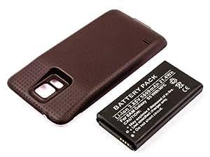 Energy 4047038132156 - Bateria extra capacidad samsung galaxy s5, gt-i9600, gt-i9602 con nfc y carcasa negra - 5600mah
