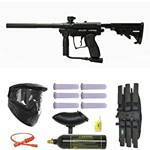 3. Kingman Spyder MR100 Pro Semi-Auto Paintball Gun
