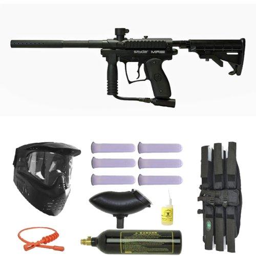 3. Kingman Spyder MR100 Pro Semi-Auto Paintball Gun