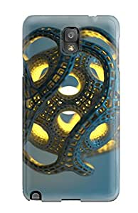 High-end Case Cover Protector For Galaxy Note 3(3d Cgi Abstract Cgi)