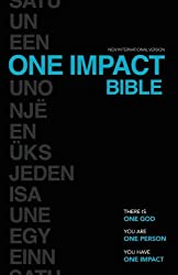NIV, One Impact Bible, Paperback: One God.  One Person.  One Impact.