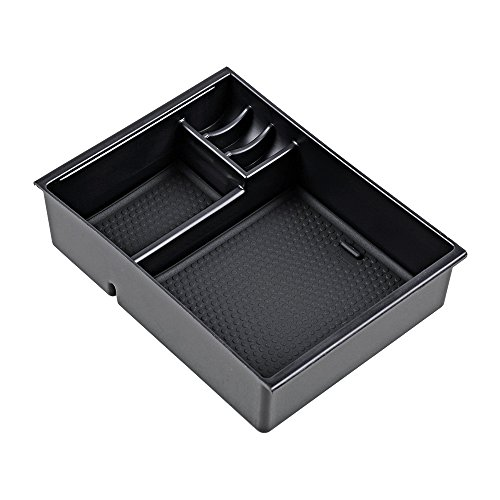 Armrest Secondary Storage Box Tray Center Console for Mazda 3 Axela 2013 2014 2015 2016 2017 2018