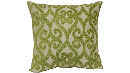 Brentwood Originals 7661 Bioko Toss Pillow, 18-Inch, Lime ()