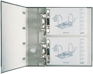 Leitz 10920000 - Archivador con doble juego de anillas doble (2 x ...