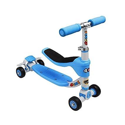 Amazon.com: Fuzion – Scoot – Patinete de 4 en 1 – Ride on ...