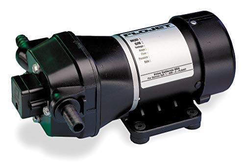 (Flojet Quad Chamber Diaphragm General Purpose Pump, Voltage: 115V, Polypropylene - 04300501G)