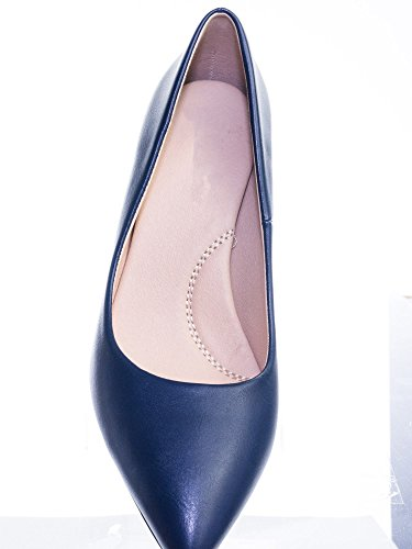 Toe Blue Super Foam Memory Classified Navy High Heel Medium Coen Comfort City Sole Pump h Cushioned Inner Pointy T655q