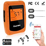 Best Bluetooth Meat Thermometers - Bluetooth Meat Thermometer, Wireless Digital Barbecue Thermometer, Smart Review