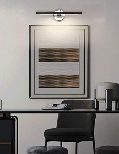 Modern Chrome LED Picture Lights 15.75\