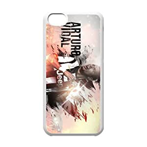 iPhone 5C Custom Cell Phone Case FC Juventus Players Arturo Vidal Case Cover YWFF34345