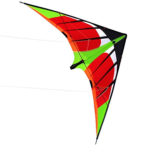 US Sky Kite NEW 5.9ft 1.8m Stunt Swift Kite Outdoor Sport Fun Toys Novelty Dual Line Delta