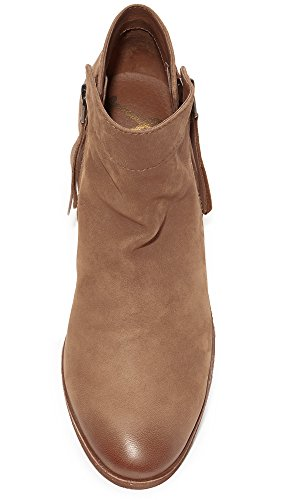 Packer Edelman Leather Women's Saddle Ankle Sam Boot Deep vqBPFB