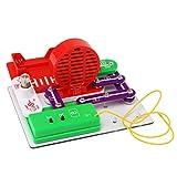 Winkey Toys for Kids Baby Boys Girls, Flying Saucer Light FM Smart DIY Electronics Kit Blocks Science Educational Toy