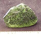 "Moldavite Crystals (1-1/4"" - 1-1/2""& Thick) - 1pc."
