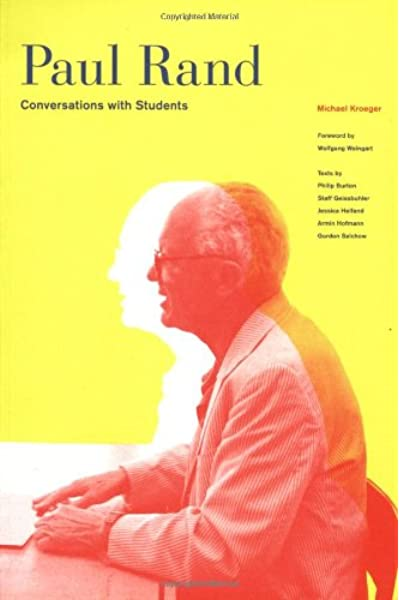 Paul Rand: Conversations With Students: Amazon.es: Kroeger ...