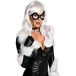 Rubie's Women's Marvel Universe Black Cat Wig, Platinum Blonde One Size