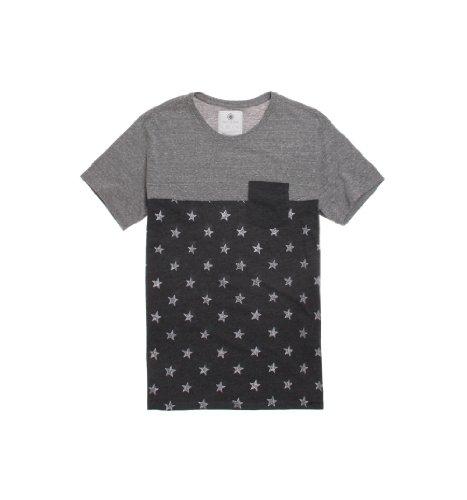 On The Byas Mens Colada Pieced Pocket Crew T-Shirt