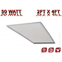 Cost Less Lighting 2x4 Ultra-Thin Edge-Lit Dimmable LED Panel 50 Watt (  sc 1 st  Amazon.com & Amazon.com: Cost Less Lighting