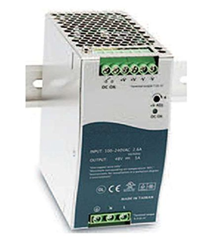 TRANSITION NETWORKS 25104 - Transition Networks 48 VDC Industrial Power Supply - 110 V AC by Transition Networks