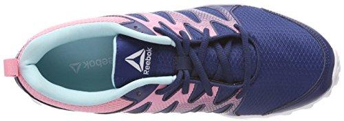 Reebok Realflex Train 4.0, Zapatillas de Deporte Para Niñas Azul (Washed Blue/Blue Lagoon/Squad Pink/White 000)