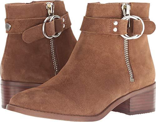 Steve Madden Women's Deja Ankle Boot, Cognac Suede, 8 M US (Steve Madden Ankle Boots)
