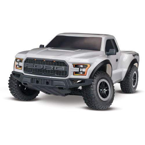 Traxxas Automobile 1 10 Scale 2WD Ford Raptor with TQ 2.4GHz Radio System - Silver