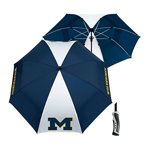 Team Effort Michigan Wolverines Windsheer Lite Umbrella (Windsheer Umbrella)