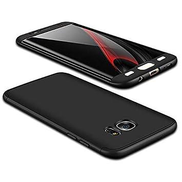 Coque Samsung Galaxy S7,Verre Trempé écran Protecteur,Étui Housse PC Hard  Shell Anti d359d174d73e