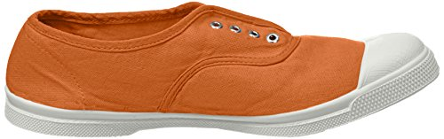 Jaune Tennis Femme Cannelle marron Baskets Bensimon Elly qF0Pg