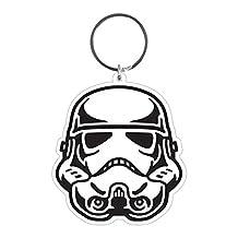 Star Wars Storm Trooper Helmet Rubber Keychain