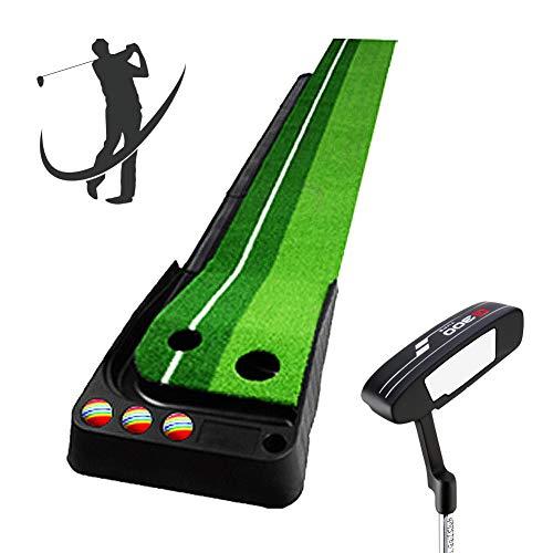 (Bibiyi Family Children's Exercise Blanket - Office Pitcher - Children's Golf Course - Putt Trainer Set - 1 Putter)
