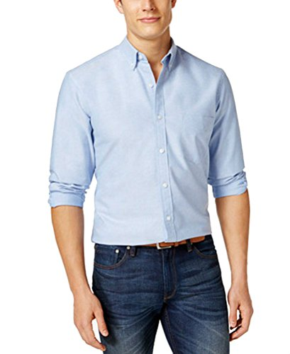 Club Room Hilliard Classic Oxford Shirt Palace Blue M