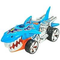 Hot Wheels 90512 Coche con luz y sonidos SharkRuiser (Extreme Action)