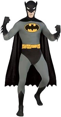 Disfraz segunda piel Batman - S: Amazon.es: Juguetes y juegos