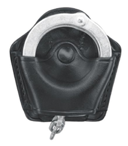 Gould & Goodrich B840 Gold Line Handcuff Case with Belt Loop (Black) Holds Most Chain or hinged Cuffs. (1 Unit)
