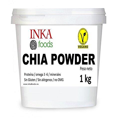 Harina de semilla de chia, no desgrasada 1 kg