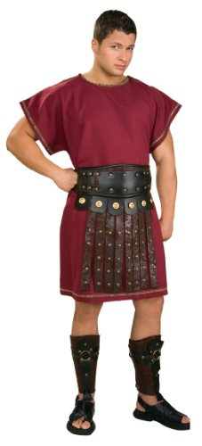 Male Goddess Costume (Rubie's Costume Gods And Goddesses Costume, Burgundy, One Size)