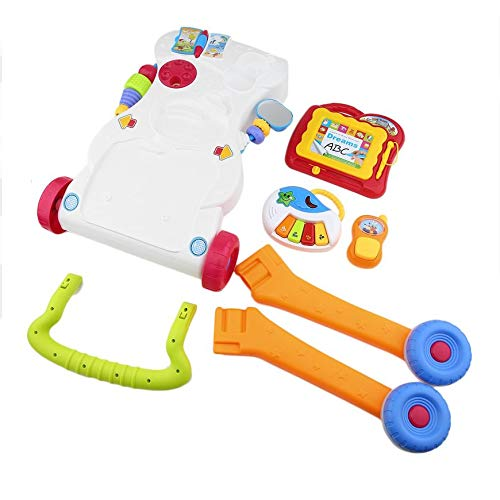 Pudincoco Andador para bebés Multifuncional Baby Walker Caminata ...