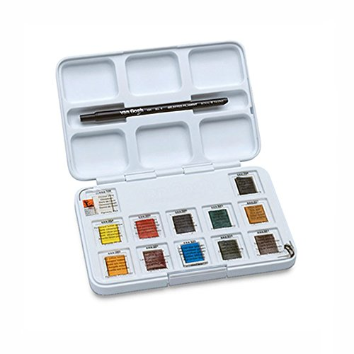 Van Gogh Royal Talens Rembrandt Soft Pastels Portrait Set, Set of 12 (Gogh Set)