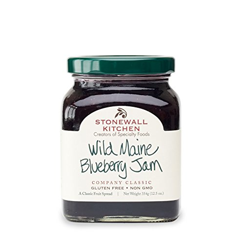 Stonewall Kitchen Jam Collections and Gift Sets - Multiple Flavors and Options (Blueberry, 12.5oz, 4 Pack)