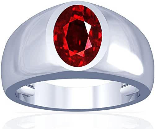 Platinum Oval Cut Ruby Solitaire Ring (GIA Certificate)