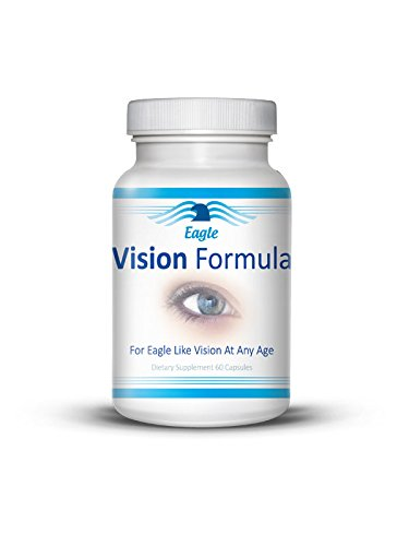 Vision Formula | Improved, Clear, and Healthy Vision | Superior Ocular Function| Macular Eye Health - 60 Capsules