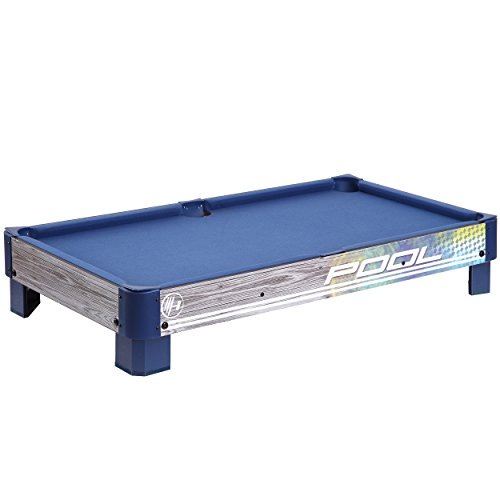 Harvil Tabletop Pool Table With L Style Legs Includes 2