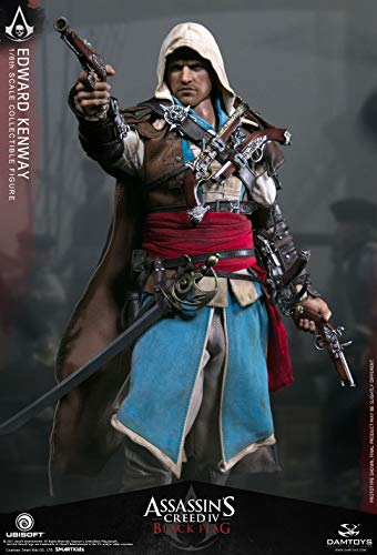 Dam Toys Assassin's Creed IV: Black Flag Edward Kenway 1/6 Sixth Scale Collectible Figure (Edward Kenway Best Assassin)