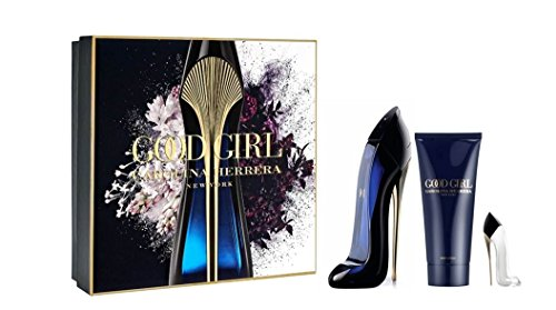 Good Girl By Carolina Herrera Eau De Parfum Spray 80ml Body Lotion