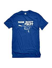 Indica Plateau Han Shot First Mens T-Shirt